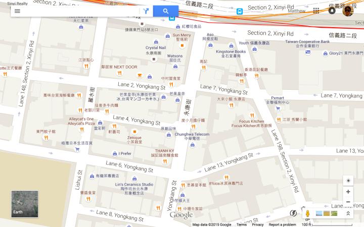SE of 東門