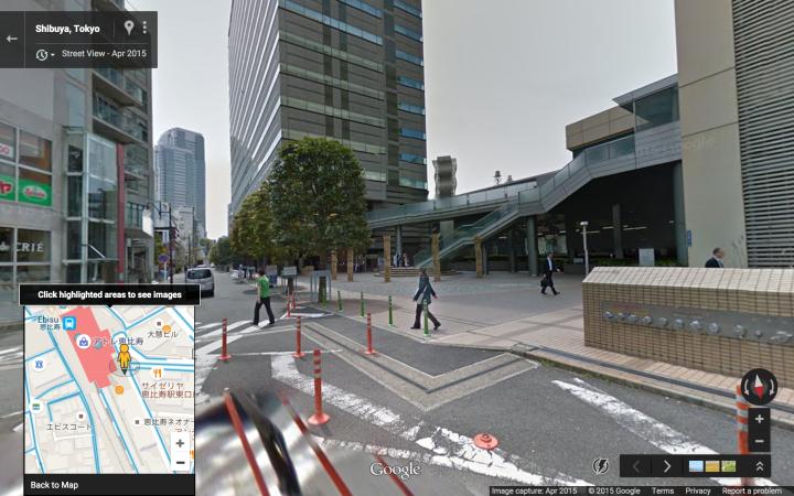 Ebisu Station SE Entrance