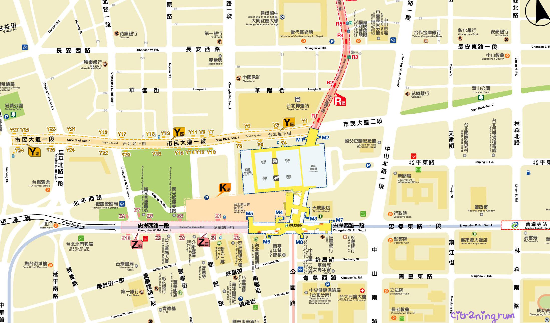 Taipei Photo Tour Entrances To Taipei City Mall Underground Arcade Janejacobsjapan