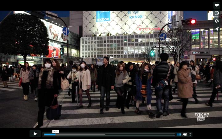 Tokyo 0 min 27 sec