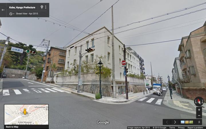 A0 SW corner of Kitano Cho