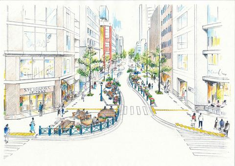 kobe route 54 artists impression
