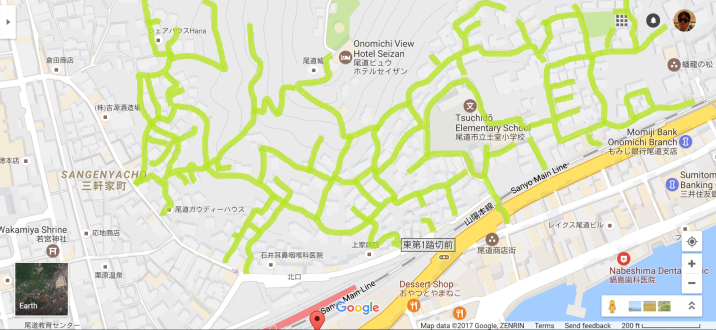 Onomichi adjacent hillside 1