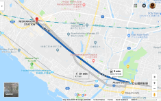 5 min from Shinkansen Station