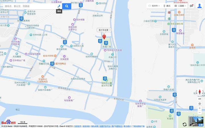Qinzhou Nan trees park aka YongFuGuangChang